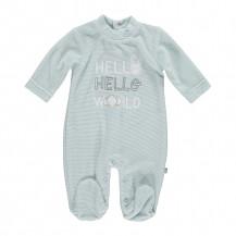 Pijama aguamarina Hello