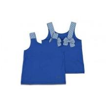 Camiseta azulón tirante rayas