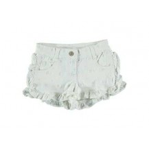 Short margaritas denim blanco