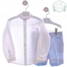 Conjunto camisa + bermuda rayuela