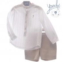 Conjunto bermuda + camisa la toscana