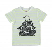 Camiseta pirates rayas fluor