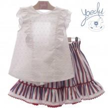 Conjunto falda + blusa portofino