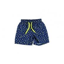 Boxer tela limones azul