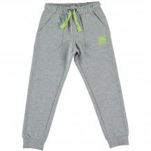 Pantalón largo gris calavera