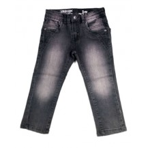 Pantalón vaquero niño largo color gris
