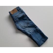 Pantalón largo vaquero azul claro lavado