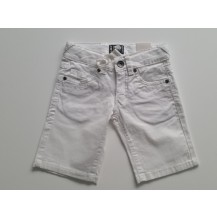 Pantalón vaquero corto blanco
