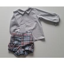 Conjunto bombacho y blusa colección Onix