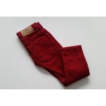 Pantalón vaquero largo rojo