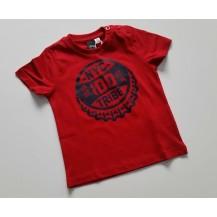 Camiseta manga corta tribe rojo