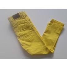 Pantalón largo sarga amarillo