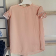 Blusa rosa palo volante sisa plata