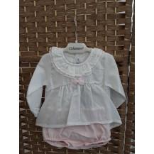 Conjunto pololo y blusa octans rosa