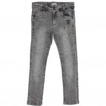 Pantalón pitillo gris cremallera