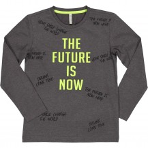 Camiseta the future verde