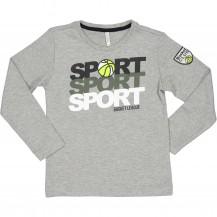 Camiseta sport gris
