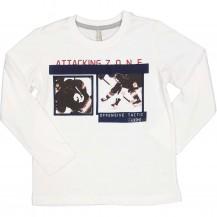 Camiseta blanca offensive