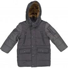 Abrigo largo gris trybe capucha