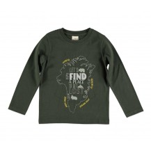 Camiseta find kaki