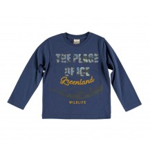 Camiseta the place azul