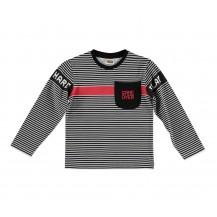 Camiseta gamer rayas