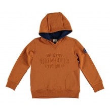 Sudadera country mostaza