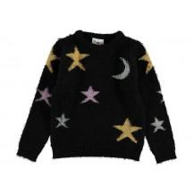 Jersey negro lunas y estrellas