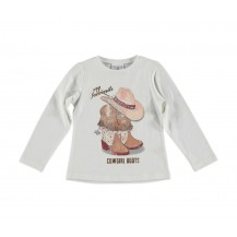 Camiseta cowgirl crudo