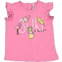 Camiseta beach fucsia