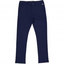 Pantalones marino chino punto