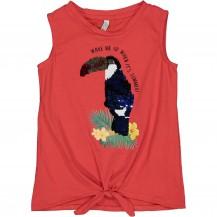 Camiseta wake roja