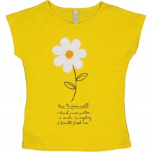 Camiseta well amarillo