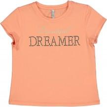 Camiseta dreamer mandarina