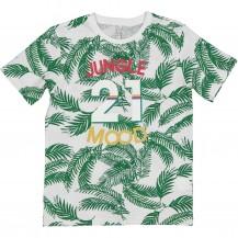 Camiseta jungle hojas