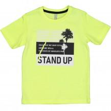 Camiseta Stand up amarilla