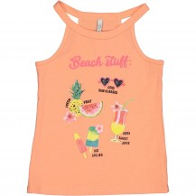 Camiseta coral frutas