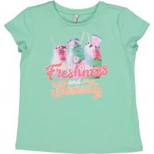 Camiseta beauty verde