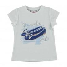 Camiseta romantic zapatos