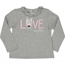 Camiseta Love gato animal