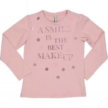 Camiseta asmile rosa