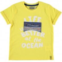 Camiseta deep amarilla