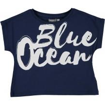 Camiseta blue oversize