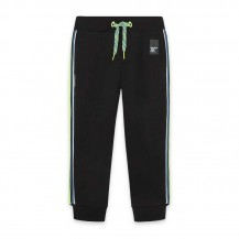 Pantalón sporty negro