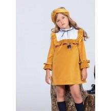 Vestido infantil montana caramelo