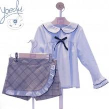Conjunto blusa + short dora