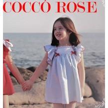 Vestido infantil colección Mini Blue
