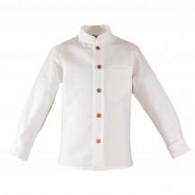 Camisa infantil beig vestir