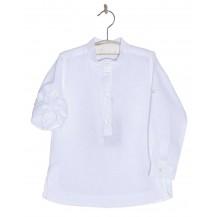 Camisa niño manga larga blanca