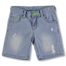 Pantalón corto denim piñas